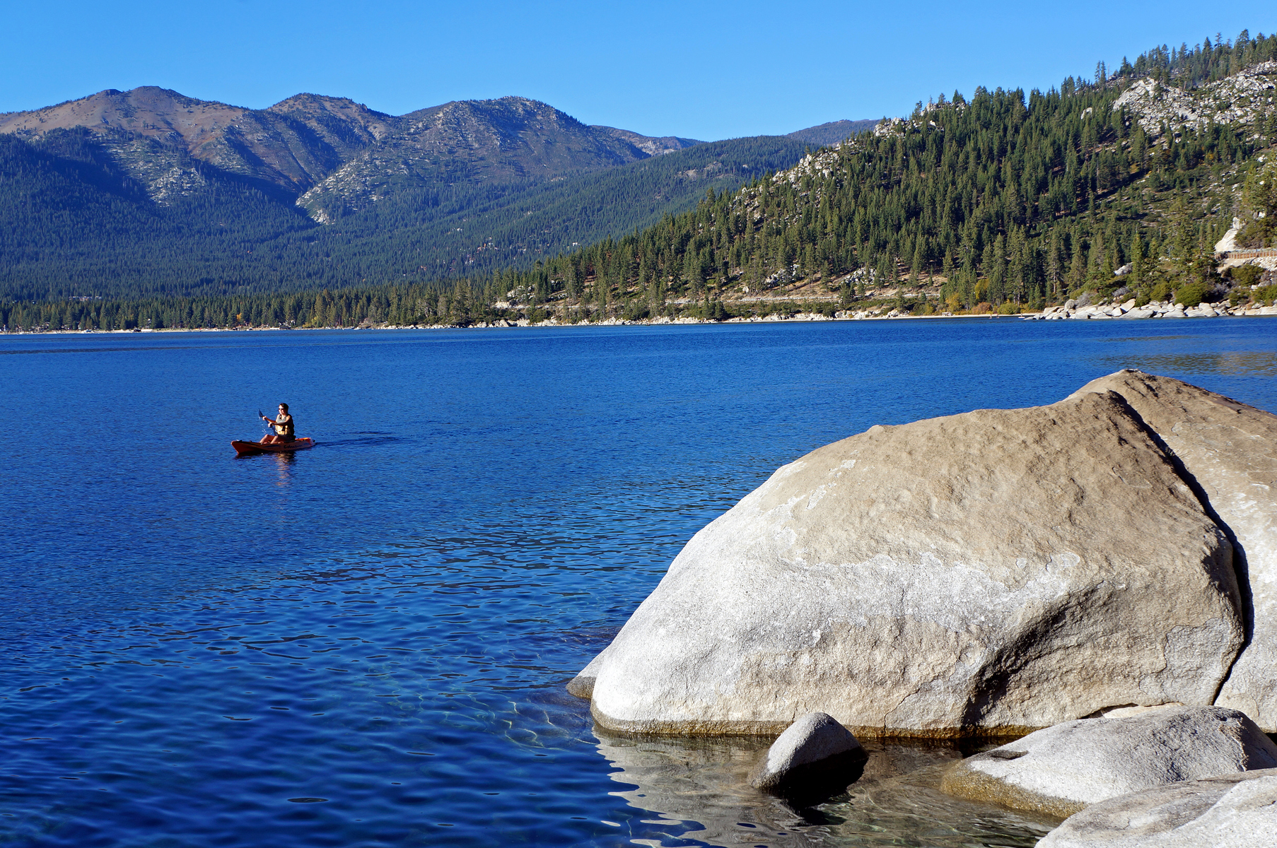 Sand Harbor, east shore Lake Tahoe, Nevada