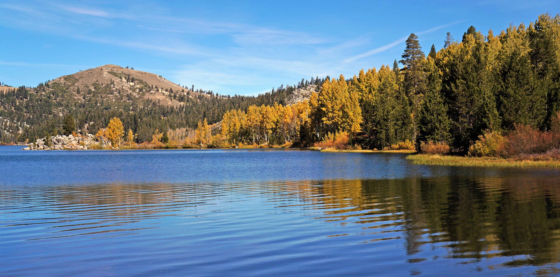 just east of Lake Tahoe, Nevada