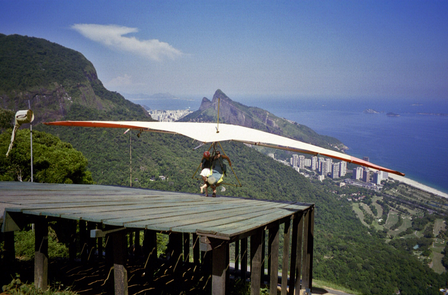 above Rio de Janeiro (note: this image is not suitable for large prints)