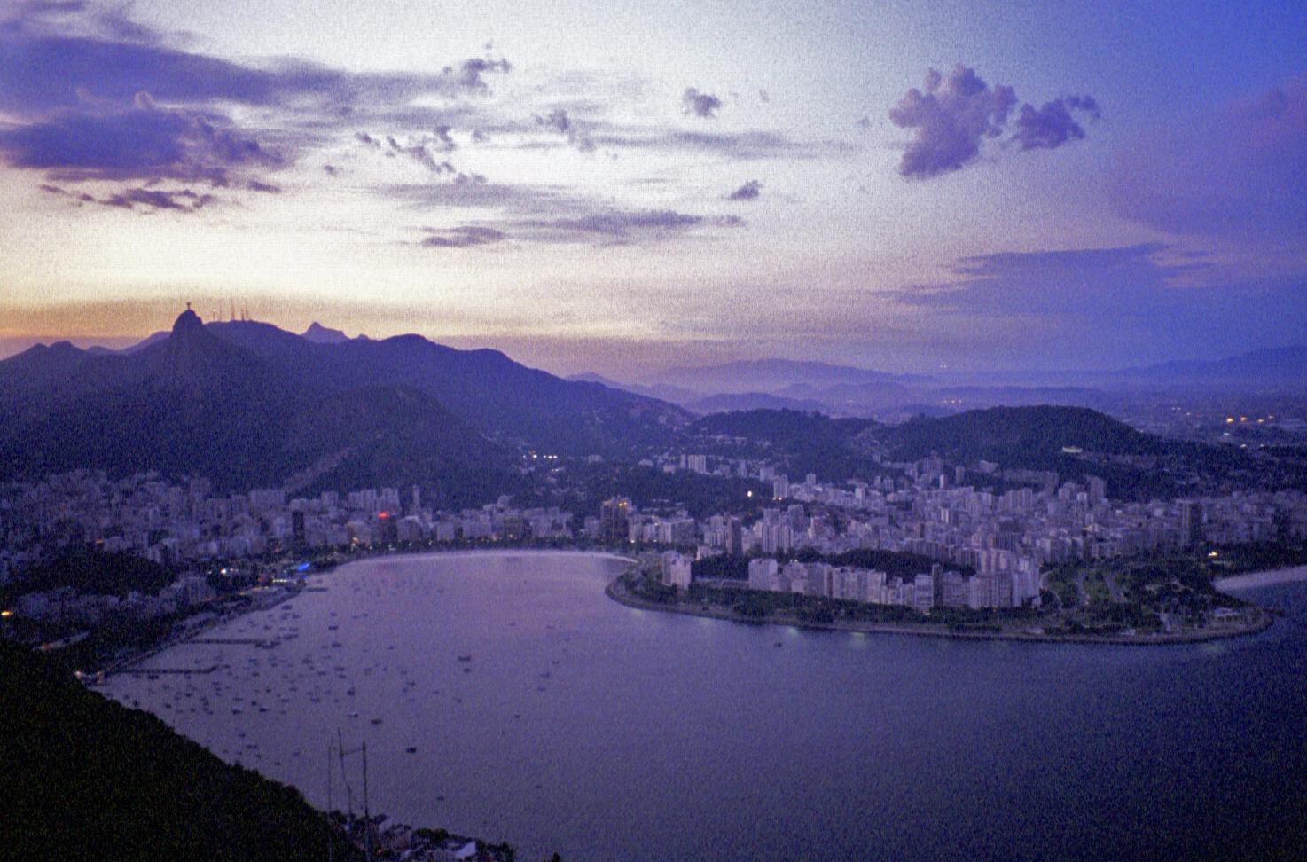view from Pão de Açúcar (note: this image is not suitable for large prints)