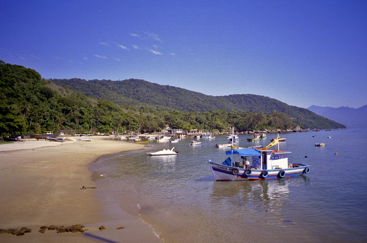 on the Brazilian coast south of Rio de Janeiro (note: this image is not suitable for large prints)