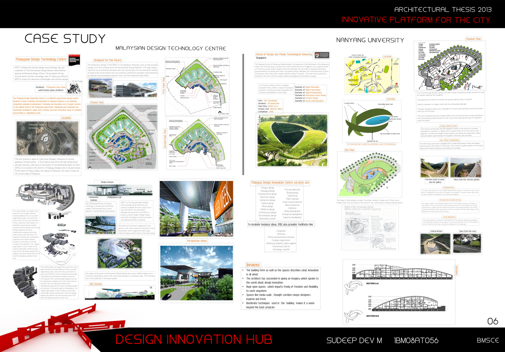 Architectural Thesis 2013 - Design Innovation Hub (Hebbal , Bangalore) | SD  Portfolio