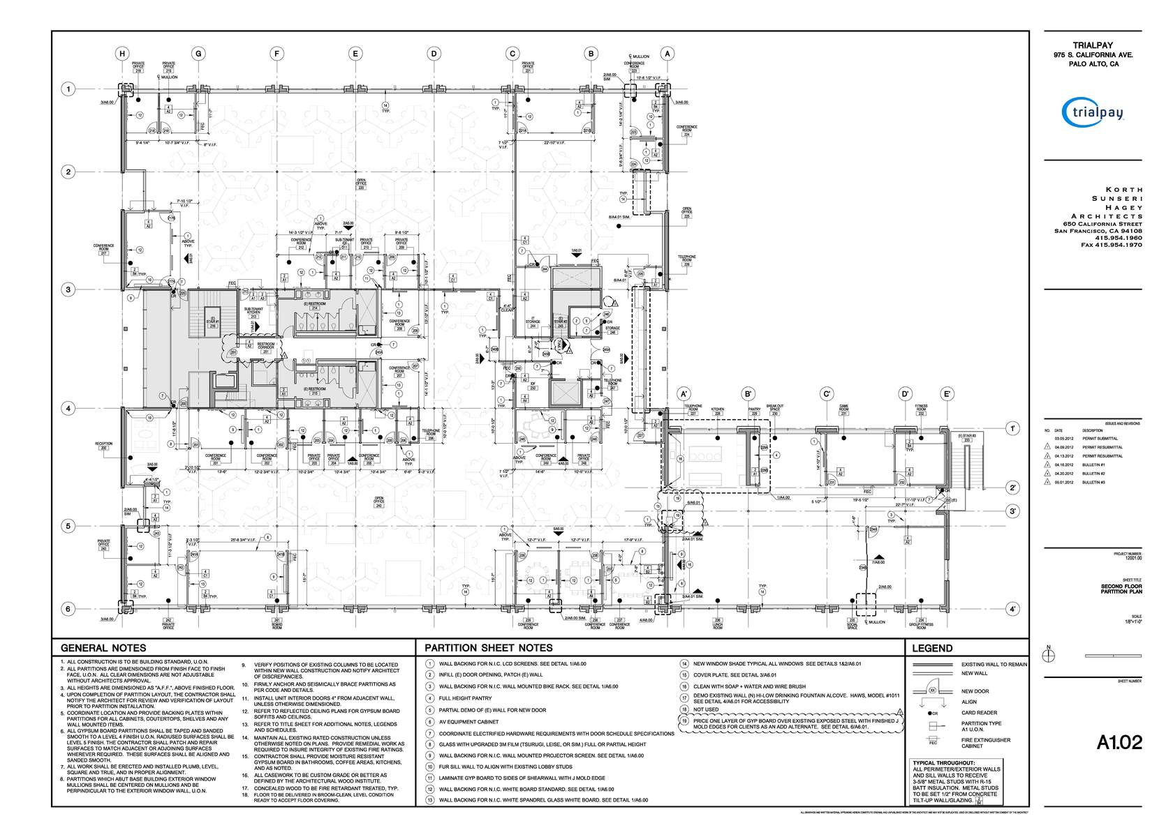 Construction Documents Floor Plan